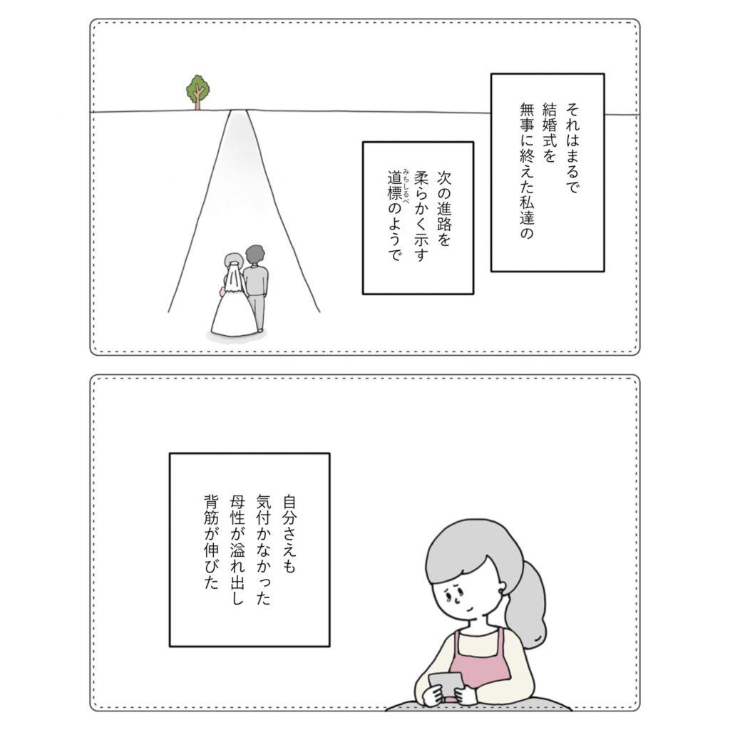 結婚式のあとは? イラスト 漫画 かわいい 手書き  旦那 夫婦