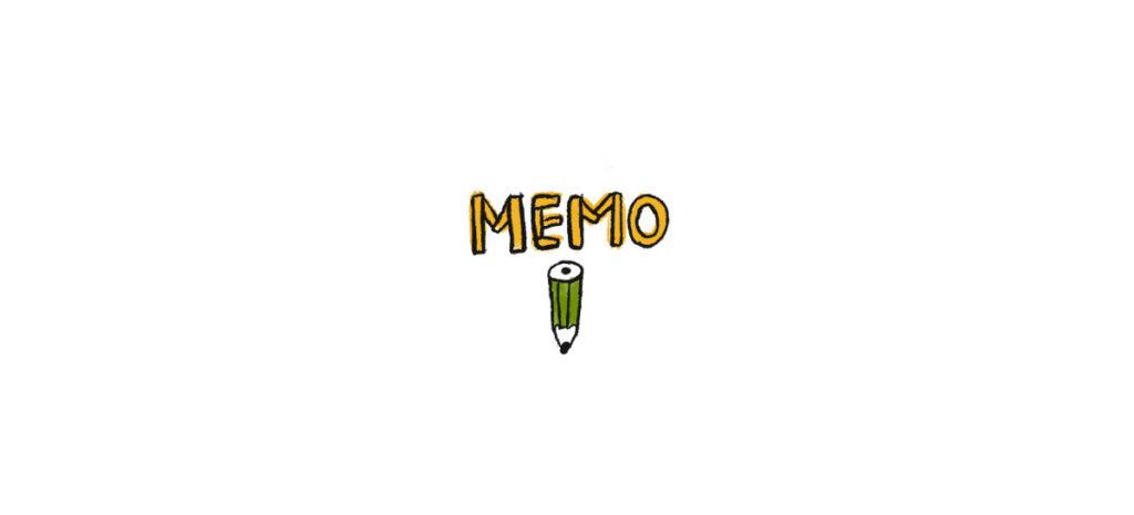 memoメモ