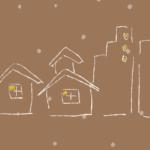 冬の街イラスト
