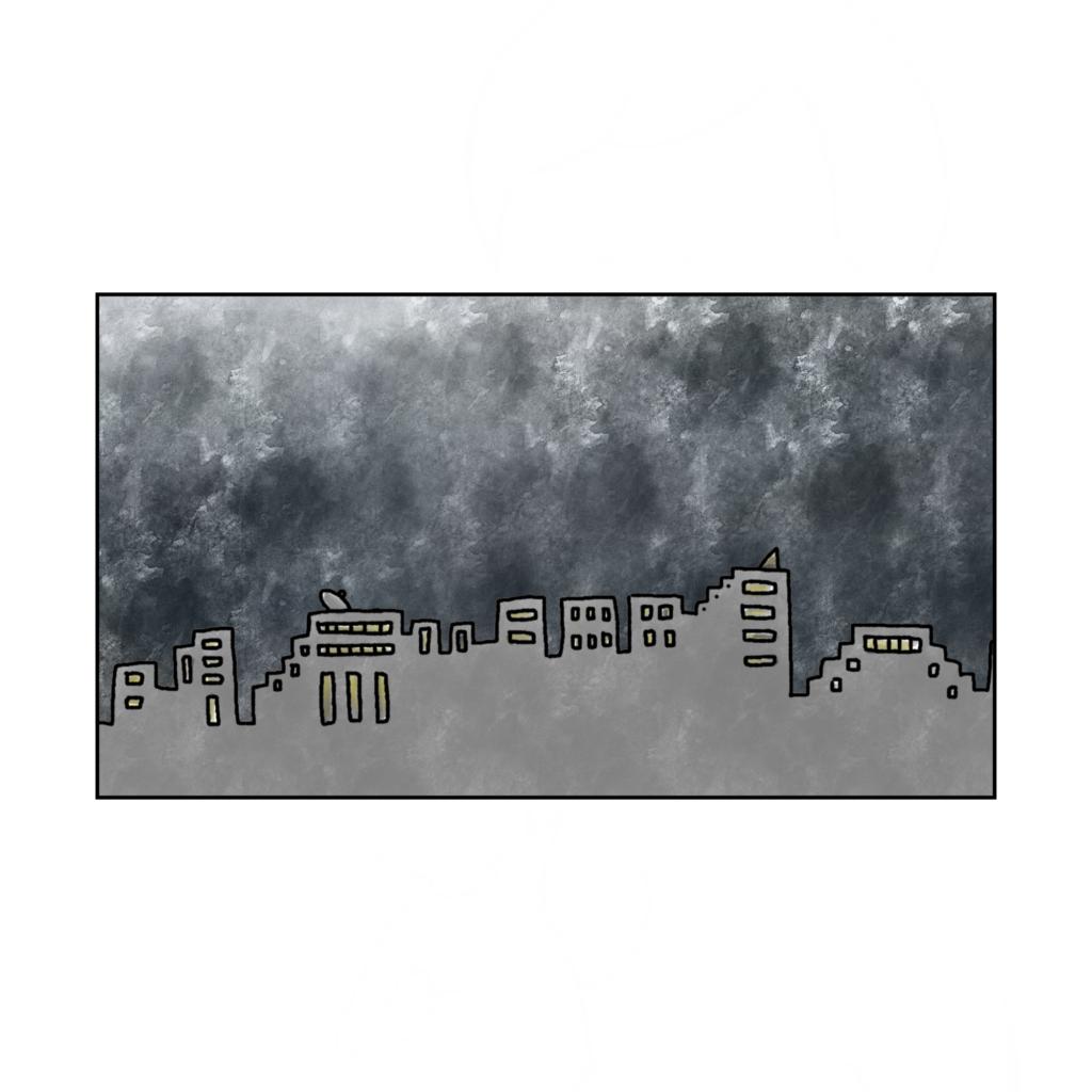 雲行きが怪しい アラサークライシス 息苦しさ 女性 女の子 まんが いらすと イラスト 漫画