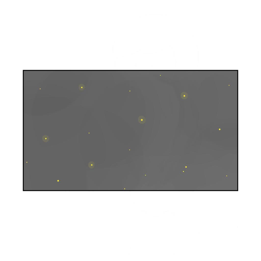 夜空のイラスト