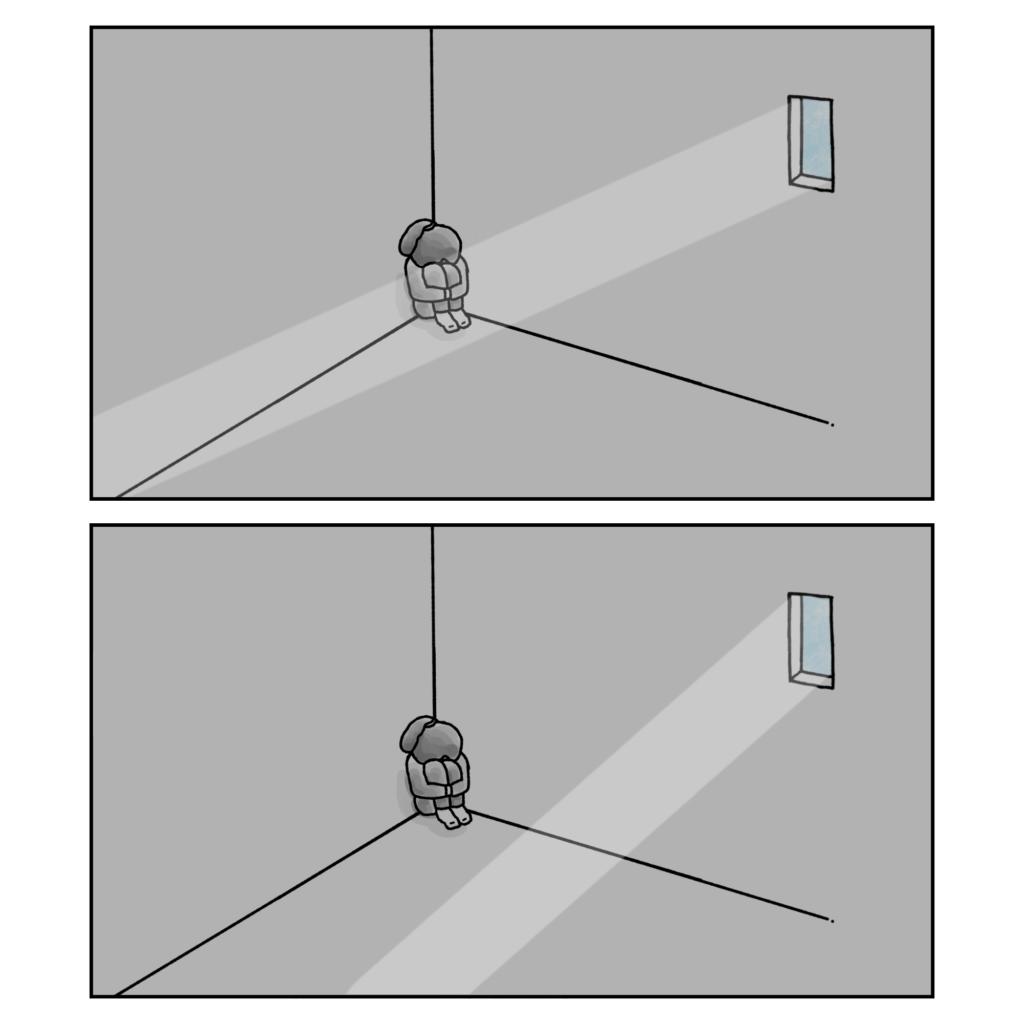 朝が来る 夫婦問題 女性 イラスト 漫画 いらすと