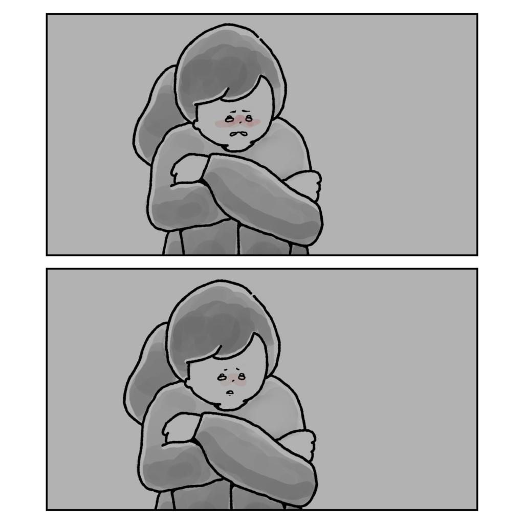 泣き止む 夫婦問題 女性 イラスト 漫画 いらすと