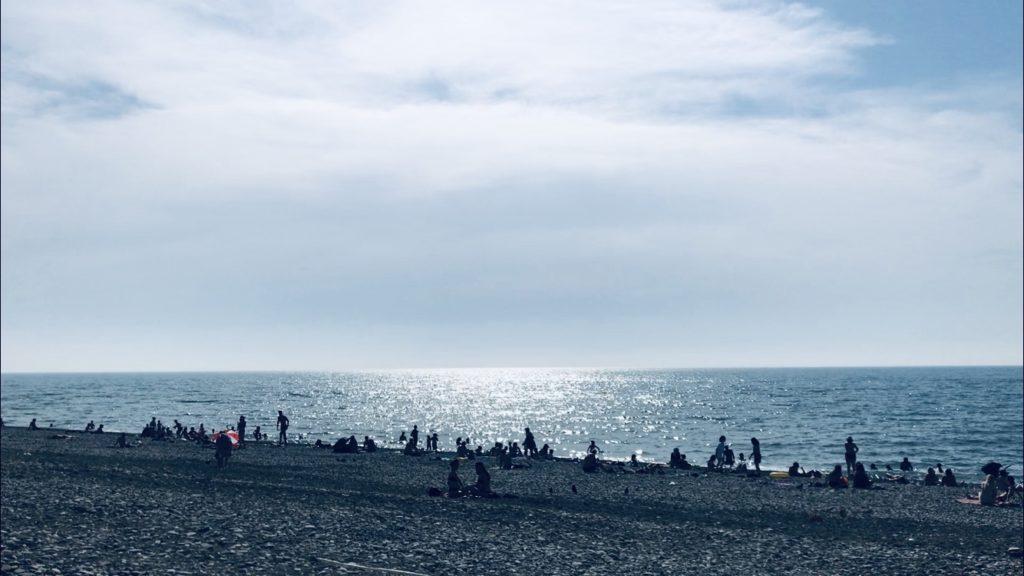 場所によって違うけれど2020年のbatumiビーチ