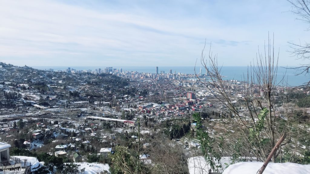 """人口15万人ジョージア第2の都市""""バトゥミ"""""""