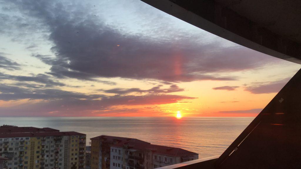 バトゥミの夕日